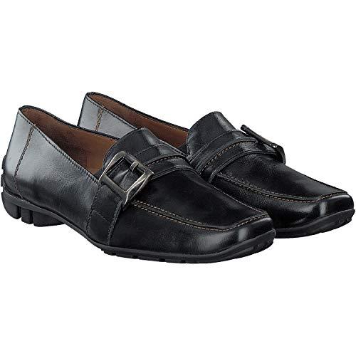 Paul Green Schuhe Mokassin schwarz 43