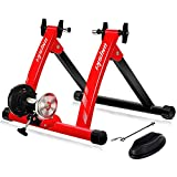 Unisky Bike Trainer Stand Indoor Riding Steel Bicycle Exercise Stand with Noise Reduction Wheel...