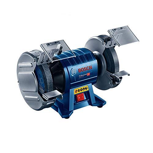 Bosch Professional Doppelschleifmaschine GBG 35-15 (Schleifscheiben-Ø 150mm, 350 Watt, inkl. Schleifscheibe Normalkörnung Korn 24, Schleifscheibe Normalkörnung Korn 60, im Karton)