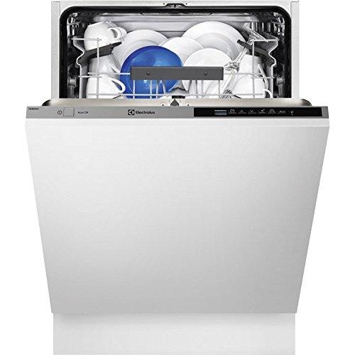 Electrolux ESL5350LO Totalmente integrado 13cubiertos A+++ lavavajilla - Lavavajillas (Totalmente integrado, Full size (60 cm), Negro, Gris, Botones, LCD, Caliente)