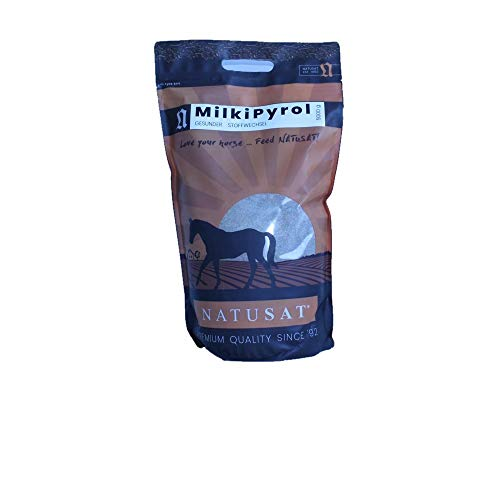 Natusat Milki Pyrol Pellets 5000 g - Stoffwechsel bei Pferden - KPU, Vitamin B12, Biotin