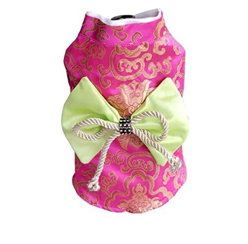 FHKGCD Lente Herfst Hond Kimono Huisdier Kleding Kimono Kat Kostuum Prinses Jas Yorkshire Chihuahua Huisdier Porducts