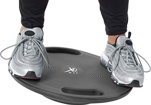 HIKS-Products-XQ-Premium-Fitness-Balance-Board-Wobble-Board-Physio-Core-Trainer-with-Handles-Large-40cm-Available-in-Black-Pink-Blue