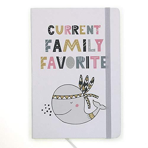 A5ゴムバンドハードカバーエグゼクティブノート罫線入りストラップノート, Ins Animal Chief Whale, Current Family Favorite