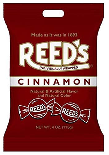 Old-Fashioned Reed's Cinnamon Hard Candy, 4 oz. Bag