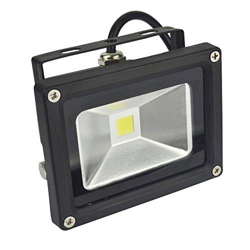 AB Tools Projecteur LED 10w Haute Puissance de sécurité 650 Lumen 6000k Blanc Jour E05 étanche