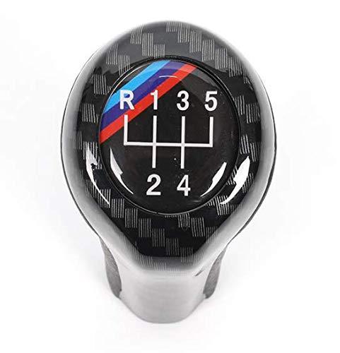 Viviance 5 6 Drehzahl Schaltknopf Für BMW E30 E32 E34 E36 E38 E39 E46 E53 E60 E61 E63 E81 E82 E83 E84 E87 E90 E91 E92 1 Series 3 Series 5 Series 6 Series X1 X3 X5-5 Speed