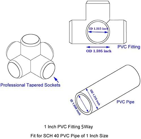 6 way pvc connector _image1