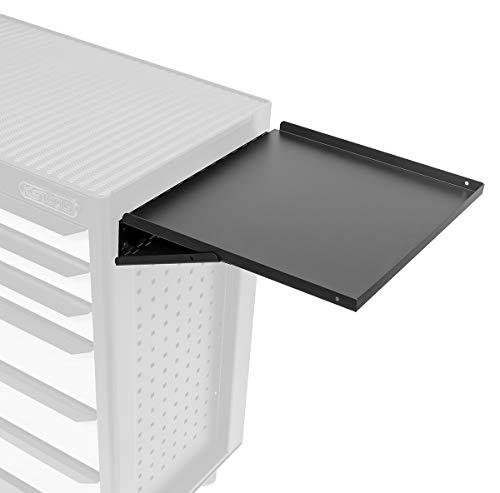KS Tools 816.9932 - Tablette latérale pour servantes - Compatible avec toutes nos servantes 5 - 6 - 7 - 9 - 13 tiroirs