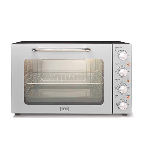 Trebs 99393 - Mini horno con recirculación (55 L, acero inoxidable 18/8)
