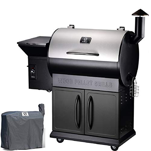Z Grills ZPG-700E 2020 Upgrade Wood Pellet Grill & Smoker, 8 in 1 BBQ Grill Auto Temperature...