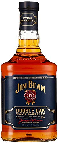 Jim Beam Double Oak Twice Barreled Bourbon Whisky, 43% - 700 ml