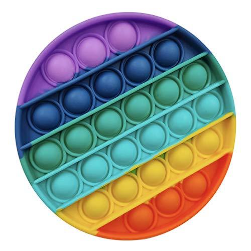 Giocattoli per alleviare lansia per Bambini e Adulti Colore Casuale Push Bubble Fidget Giocattolo sensoriale Antistress in Silicone Kribee Push Pop Pop Bubble Fidget Giocattolo sensoriale