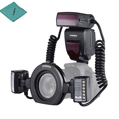 YONGNUO YN24EX E-TTL Macro Flash Speedlite 5600K...