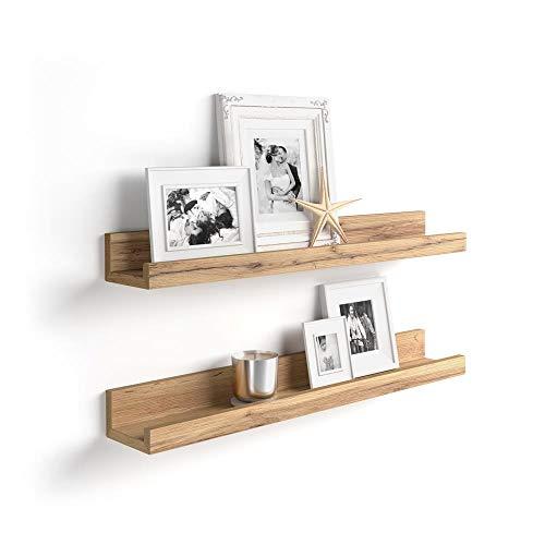Mobili Fiver, Par de estantes para Cuadros, Modelo First, 80