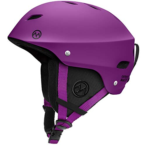 OutdoorMaster Ski Helmet - with ASTM Certified Safety, 9...