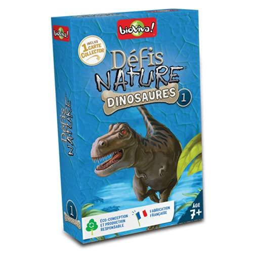 BIOVIVA - Défis Nature - Dinosaures - Jeu de société ludique dès 7 ans - 280105