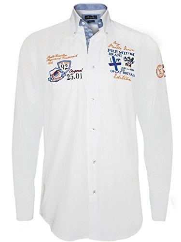 Pontto Designer Homme Chemise Shirt - GREAT BRITAIN -S