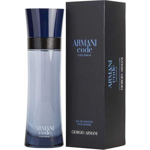 GIORGIO ARMANI Armani code colonia 6.7 edt sp for men, 6.7 Fl Ounce