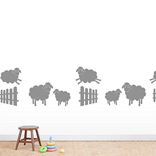 Sticker Jumping Animals Children Playroom