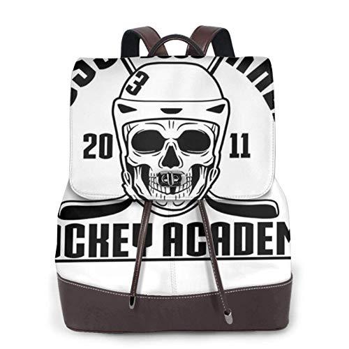 Ross The Boss Hoey Academy Women's Bapack, College Girl School Bag, Ladies Travel Bapack, Ladies Leather Bapack