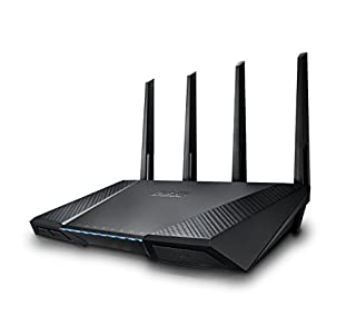 ASUS RT-AC87U AC2400 Dual Band Gigabit WiFi Router, Aiprotection Lifetime Security by Trend Micro, Adaptive Qos, Parental Control (B00MPI5N7U) | Amazon price tracker / tracking, Amazon price history charts, Amazon price watches, Amazon price drop alerts