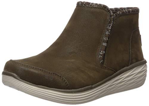 Ryka Women's Namaste Ankle Boot, Olive, 6.5 M US