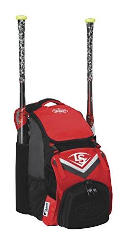 Louisville Slugger EB Series 7 Stick Pack Baseball Equipment Bags, Scarlet