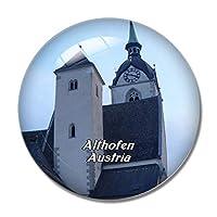 アルトホーフェン教会オーストリア冷蔵庫マグネットホワイトボードマグネットオフィスキッチンデコレーション