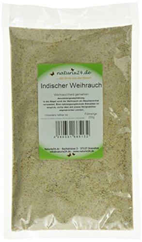 Naturix24 Weihrauch indisch gemahlen , 1er Pack (1 x 250 g)