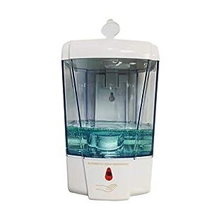 Dispenser di sapone liquido Dispenser Piatto automatico Touchless dell'erogatore del sapone for montaggio a parete sapone liquido della casa della cucina Ristorante Hotel Scuole Bagno Dispenser di loz
