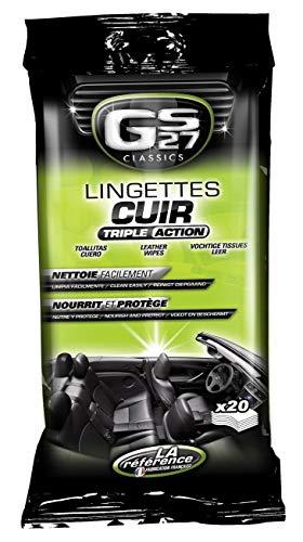 GS27 CL180410 Lingettes Entretien Cuir