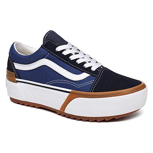 Sneaker Vans Vans UA Old Skool Stacked Navy/True White para Adulto Unisex 36