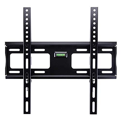 Soporte de pared para TV,soporte para TV: hecho de acero laminado en frío engrosado ajustable a la izquierda y a la derecha Adecuado para la mayoría de televisores de 23 a 55 pulgadas Distancia 400