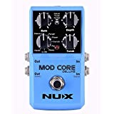 NUX MOD Core DELUXE Chorus/Flanger/Phaser/Rotary Guitar Effect Pedal 8 Modulation Effects Preset Tone Lock chorus pedals May, 2021