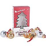 Viva Terry Christmas Spirit Shot Glasses, clear ,Set of 6