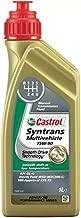 Castrol 18177160 75W90 1L Syntrans - Aceite sintético para transmisiones manuales (recomendado para vehículos que requieren API GL-4)