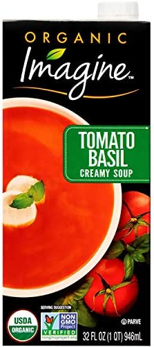 Imagine Organic Creamy Soup Tomato Basil 32 oz product image