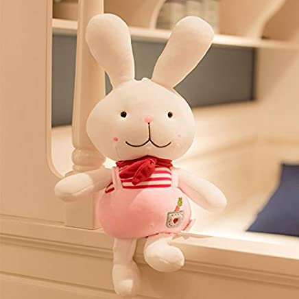 ZSFR Little White Rabbit Plush Toy Doll Doll Cute Little Doll Child Gift Accompany You Sleep The Pillow Bed 50Cm
