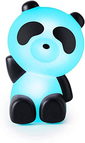 BigBen Interactive Lumin´us Haut-Parleur Lumineux en Forme de Panda, Bluetooth sans Fil et USB, Blanc