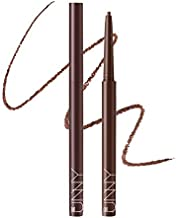 IM UNNY Skinny Fit Slim Pencil All Day Waterproof Long Lasting Gel Soft Touch For Easy Drawing Vivid Color, Mocha Brown, 1 Count