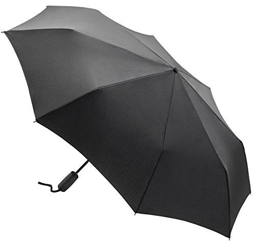 Limuwa Regenschirm RAIN Deluxe Taschenschirm - großer Durchmesser - TÜV Zertifiziert