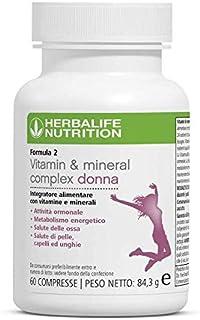 Herbalife Formula 2 - Multivitamin Complex - Promotes Healthy Hair, Skin & Bones