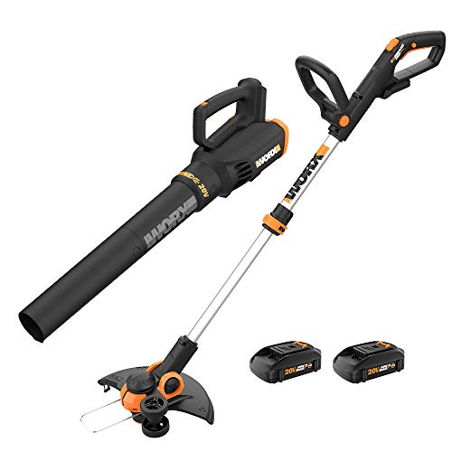 WORX WG928 GT 3.0 Grass Turbine 2 20V Batt/Charger Included String Trimmer