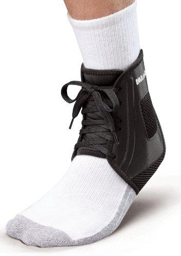 Mueller XLP Ankle Brace, Black, Large, Women's 12-14, Men's 13-15