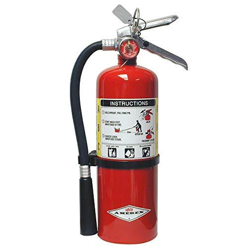 Amerex B500, 5lb ABC Dry Chemical Class A B C Fire Extinguisher (6 Pack)