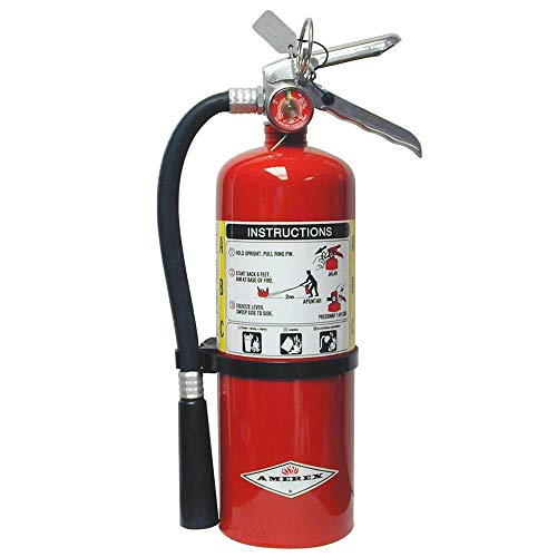 Amerex B500, 5lb ABC Dry Chemical Class A B C Fire Extinguisher (6 Pack)