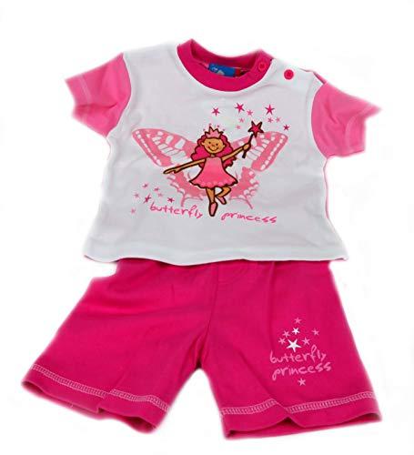 Topolino Shirt + Hose Set - Butterfly - Gr. 74