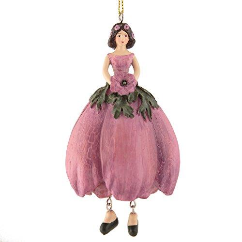 Rosemarie Schulz Elfen-Deko Figur Anemonen Blumen-Mädchen Skulptur zum Hängen Flower Fairy Figur Dekofigur Heidelberg