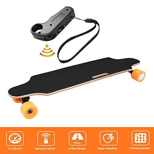 Laiozyen Longboard eléctrico E Skateboard Electric City Scooter Longboard eléctrico con Control...